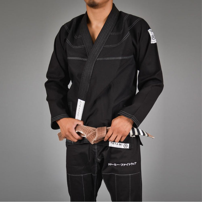 "Tatami ""White Label"" BJJ Gi - Black"