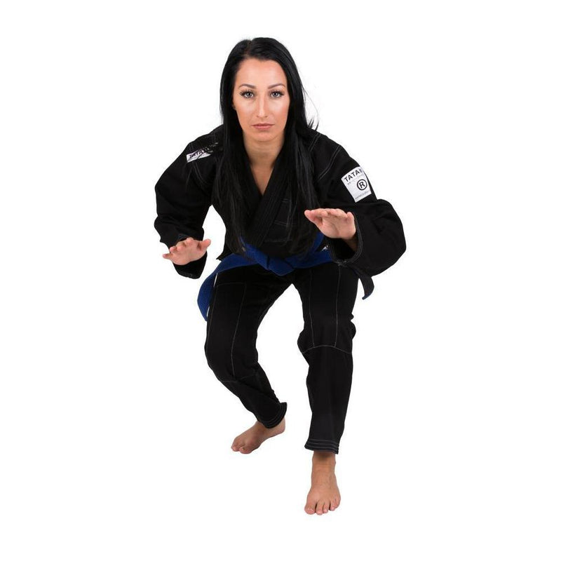 "Tatami ""White Label"" BJJ Women's Gi - Black"