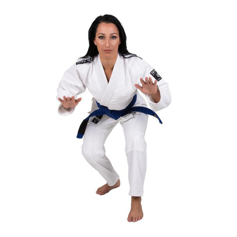 "Tatami ""Black Label"" BJJ Women's Gi - White"