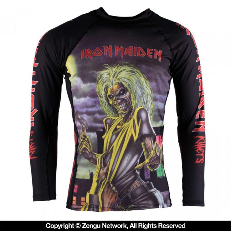 "Tatami Iron Maiden ""Killers"" Rash guard"