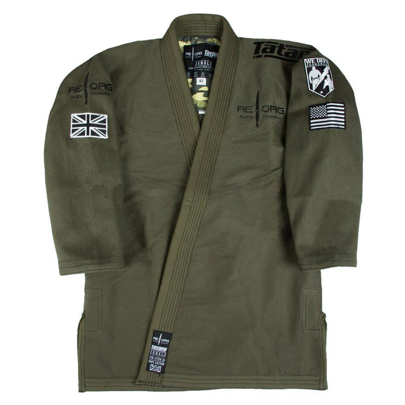 "Tatami x Reorg ""Jungle"" BJJ Gi - Army Green"