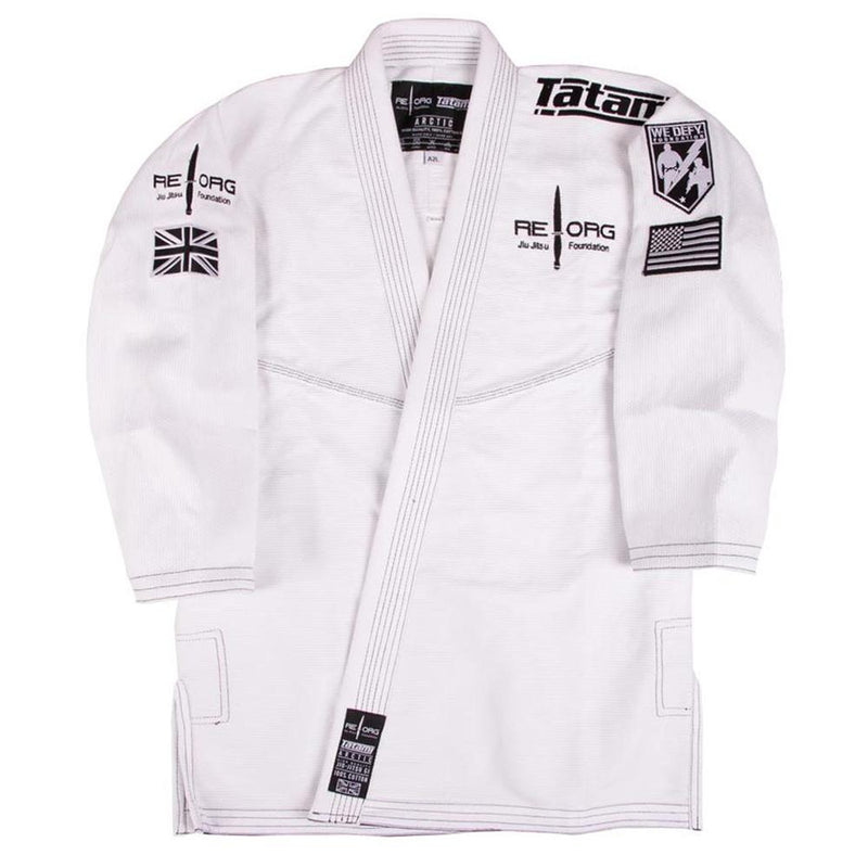 "Tatami x Reorg ""Jungle"" BJJ Gi - White"