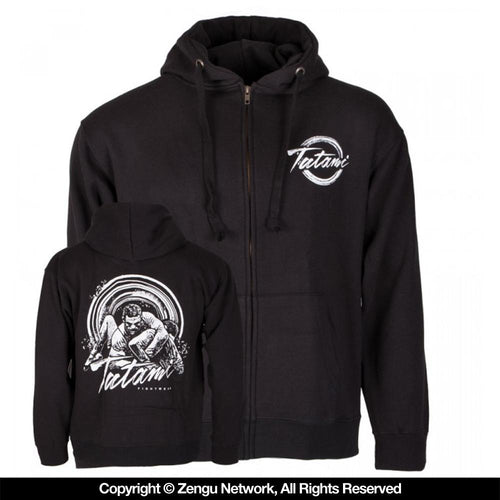 "Tatami ""Grapplers Collective Kimura"" Zip Up Hoodie"