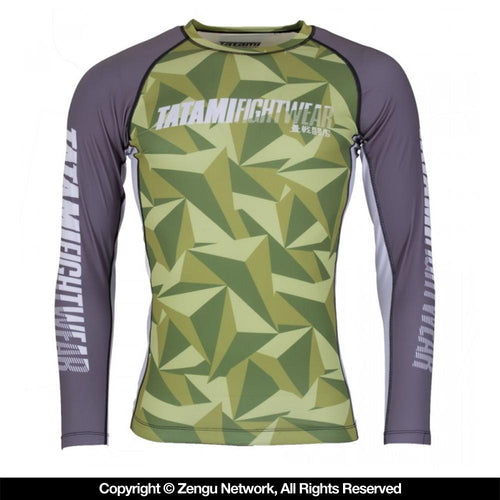 "Tatami ""Nexus"" Rash Guard - Green"