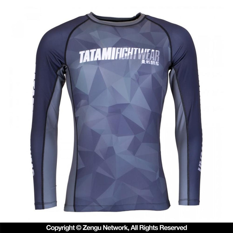 "Tatami ""Nexus"" Rash Guard - Navy"