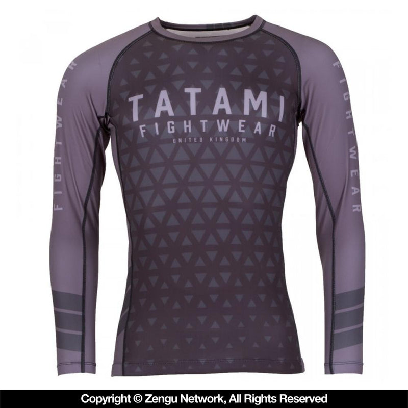 "Tatami ""Graphite Prism"" Rash Guard"