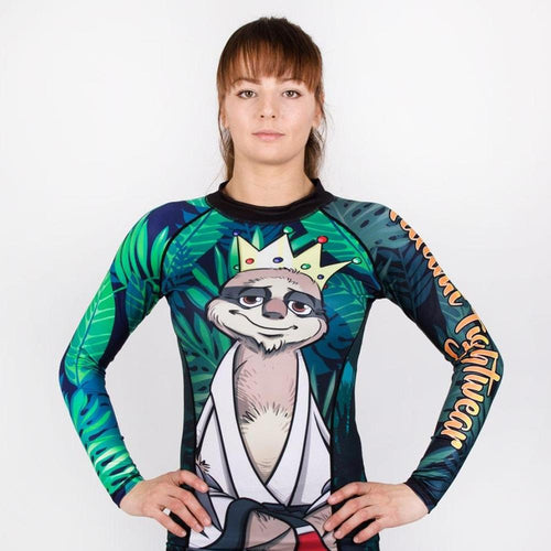 "Tatami ""King Sloth"" Women's Rash Guard"