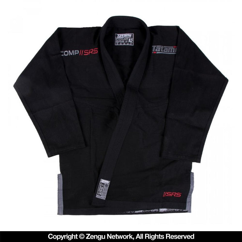 "Tatami Comp ""SRS"" Lightweight Women's BJJ Gi Black"