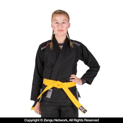 "Tatami Comp ""SRS"" Lightweight Kids BJJ Gi Black"