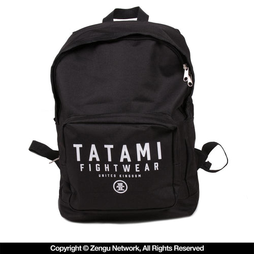 Tatami Black Travel Backpack