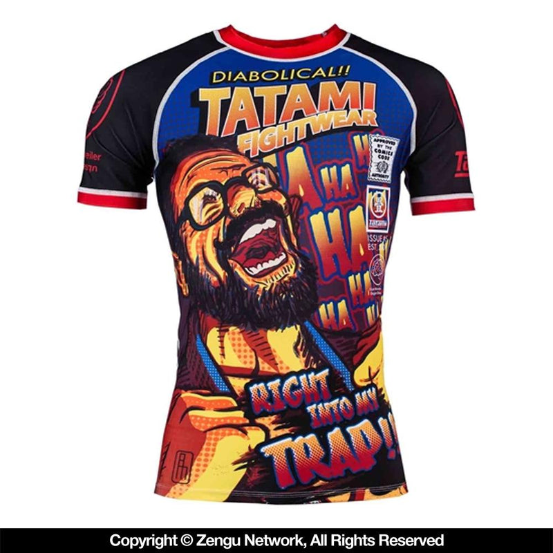"Tatami ""The Professor"" Rash Guard"