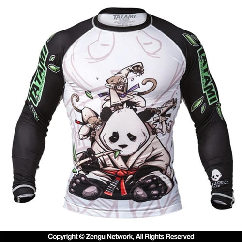 "Tatami ""Gentle Panda"" Rash Guard"