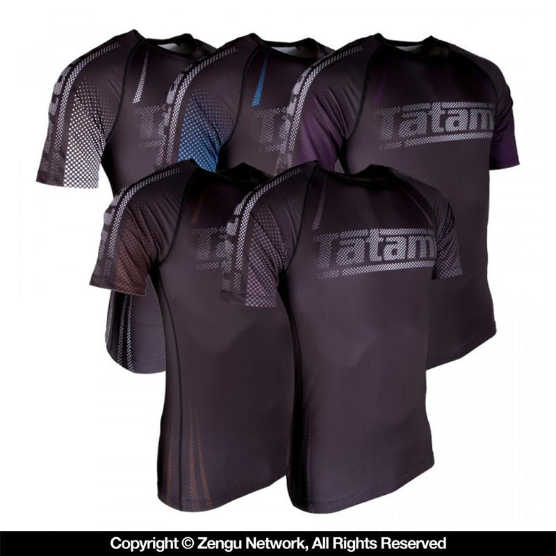 Tatami IBJJF Ranked Short-Sleeve Rash Guard