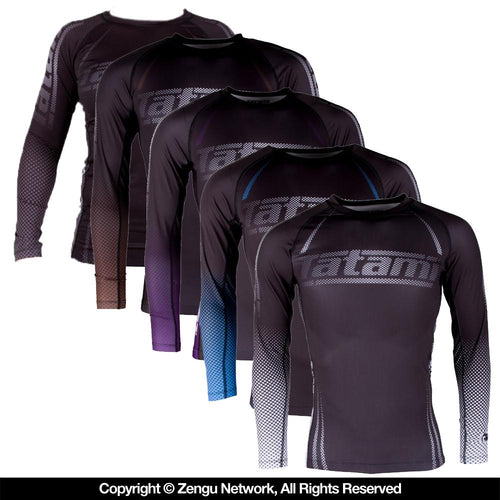 Tatami IBJJF Women's Ranked Long-Sleeve Rash Guard