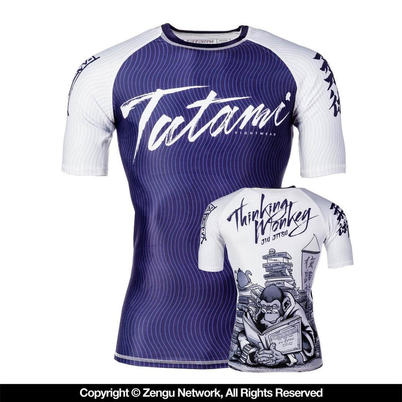 "Tatami ""Thinker Monkey"" Rash Guard"