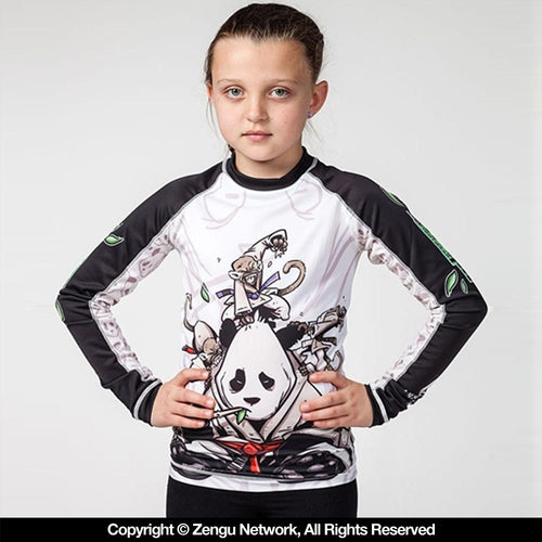 "Tatami ""Gentle Panda"" Children's Rash Guard"
