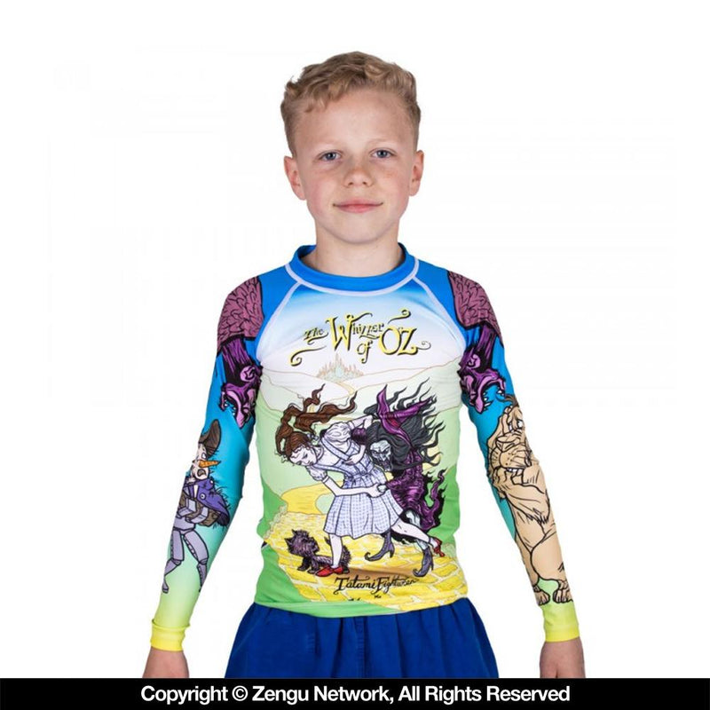 "Tatami ""Whizzer of Oz"" Children's Rash Guard"