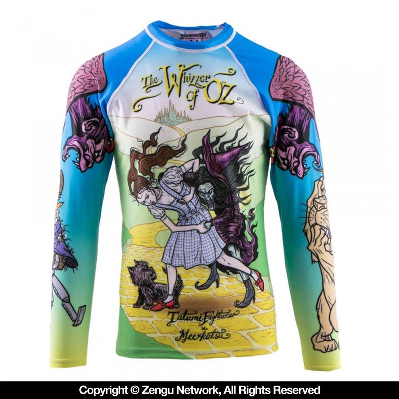 "Tatami ""Whizzer of Oz"" Rash Guard"