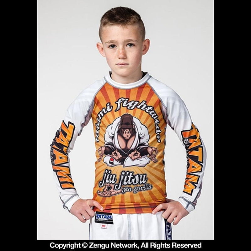 "Tatami ""Zen Gorilla"" Children's Rash Guard"