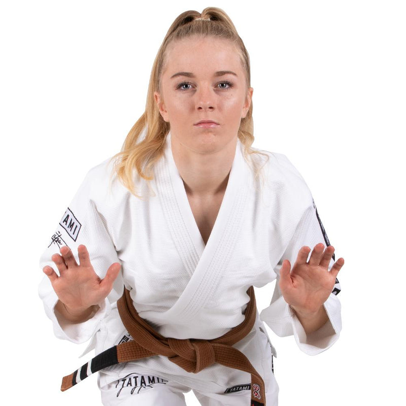 "Tatami ""Signature"" Women's BJJ Gi - White"