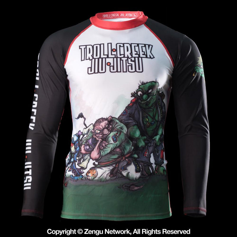 Troll Creek Jiu Jitsu Rash Guard