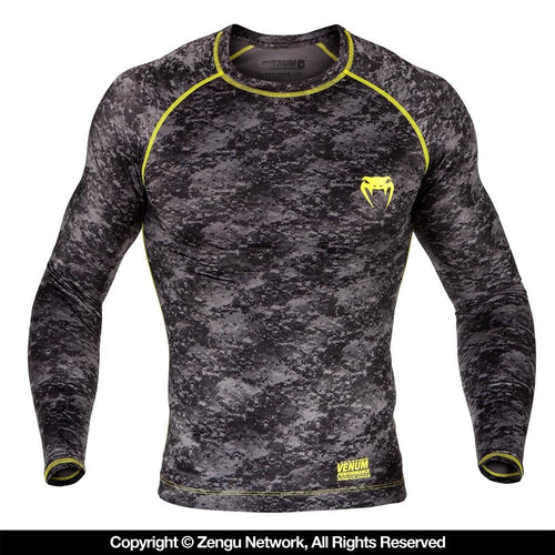 "Venum ""Tramo"" Long Sleeve Rash Guard"
