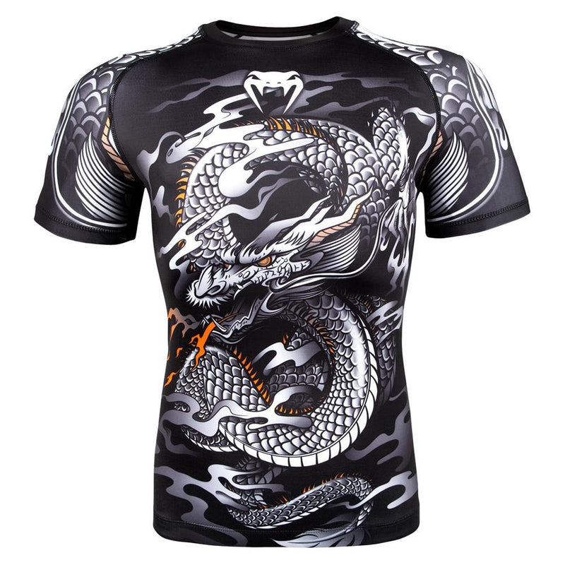 "Venum ""Dragon's Flight"" Short Sleeve Rash Guard"