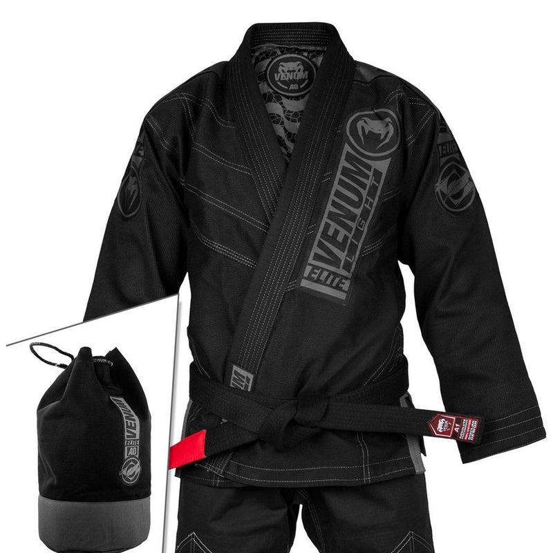"Venum ""Elite Light 2.0"" Gi - Black/Black"