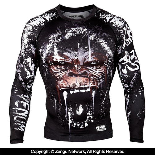 "Venum ""Gorilla"" Long Sleeve Rash guard"