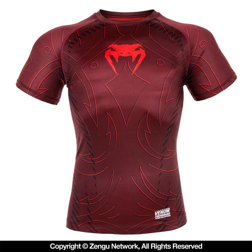 "Venum ""Nightcrawler"" Short Sleeve Rash guard"