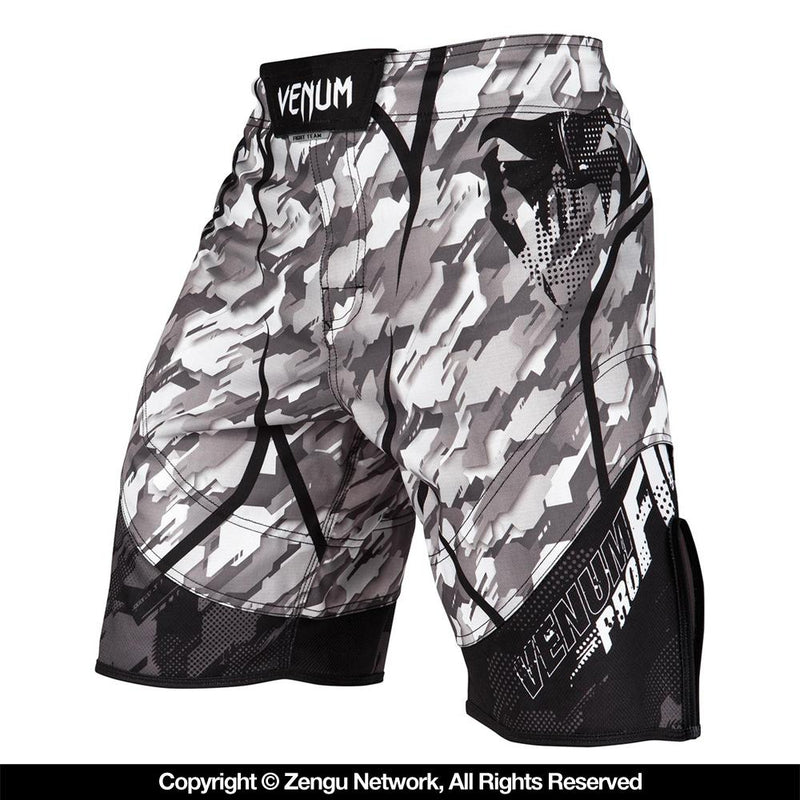 "Venum ""Tecmo"" Shorts - Black/Grey"