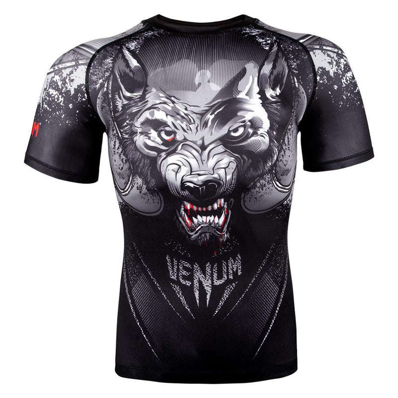 "Venum ""Werewolf"" Short Sleeve Rash Guard"