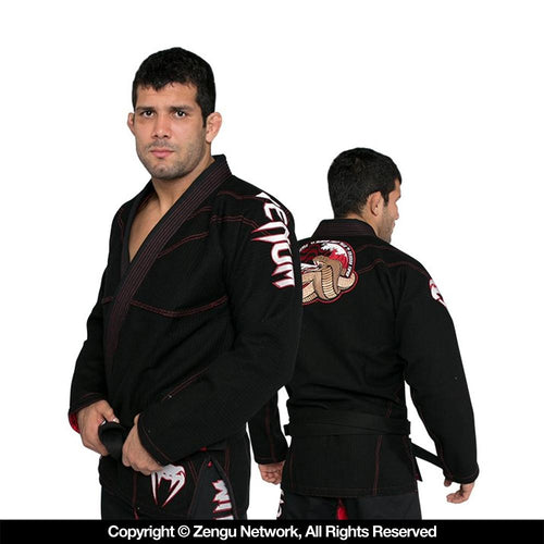 Venum Absolute 2.0 Crimson Viper BJJ Gi - Black