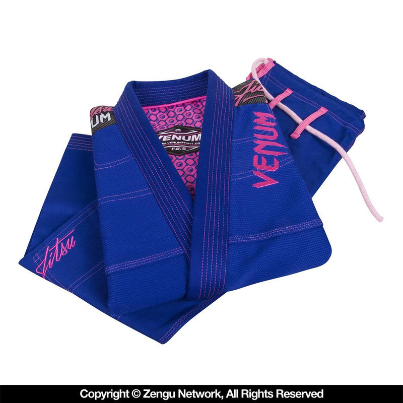 "Venum ""Challenger 2.0"" Ladies BJJ Gi - Blue"