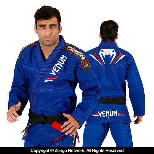 "Venum BJJ - Blue/Red ""Elite"" Gi"