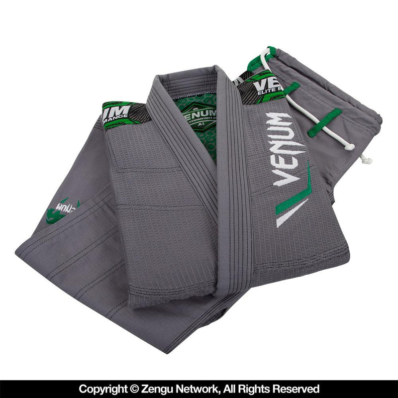 "Venum ""Elite"" Grey BJJ Gi"