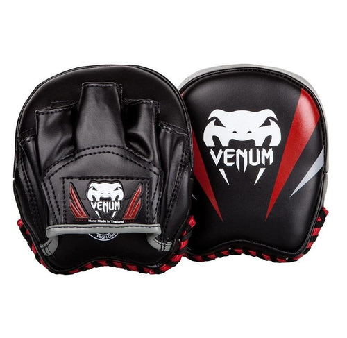 Venum Elite Small Punch Mitts - Black