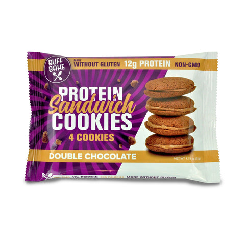 DOUBLE CHOCOLATE PROTEIN SANDWICH COOKIE