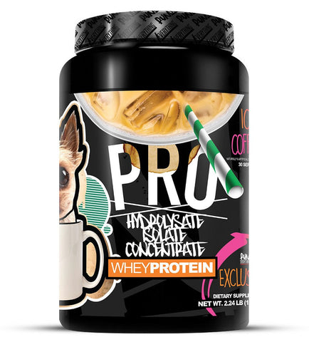 LIMITED EDITION | ICED COFFEE | PRO | HYDROLYSATE, ISOLATE, CONCENTRATE