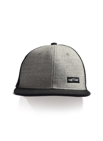 FNF PATCH TRUCKER HAT - GREY