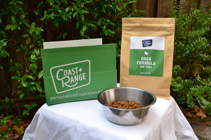 TRANSITIONING YOUR DOG TO COAST+RANGE FOODS