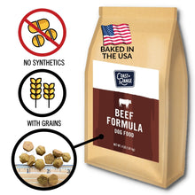 Gently-Baked Beef Formula Food for Adult Dogs - 24lb Carton (6 x 4lb bag)