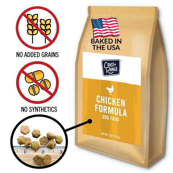 Gently-Baked Chicken Formula Food for Adult Dogs - 24lb Carton (6 x 4lb bag)