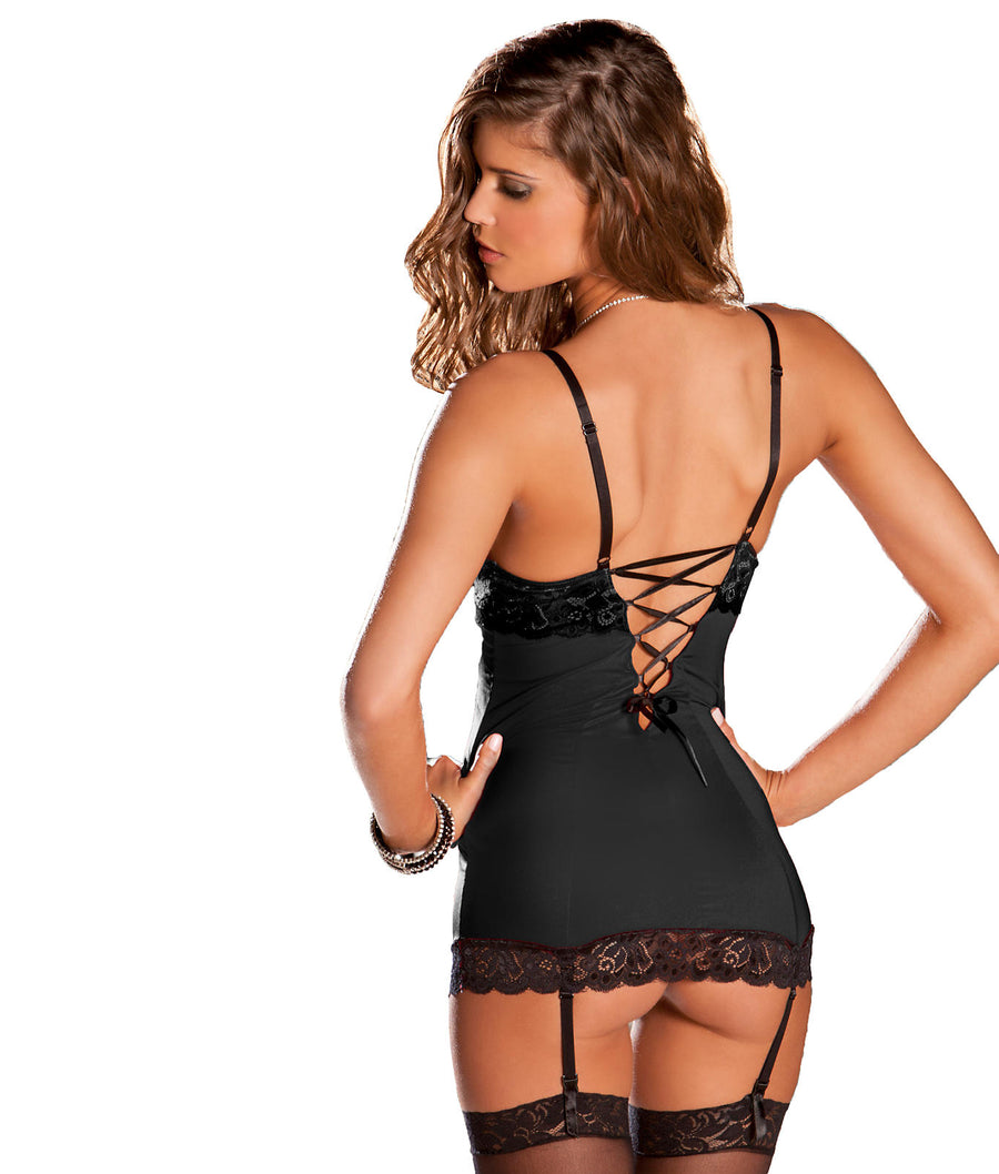 Hollywood Wireless Chemise Set