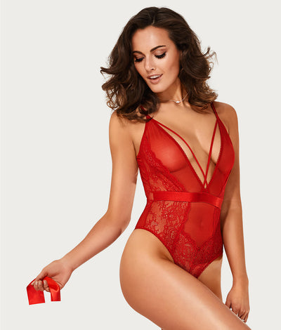 Viviane Teddy in Red