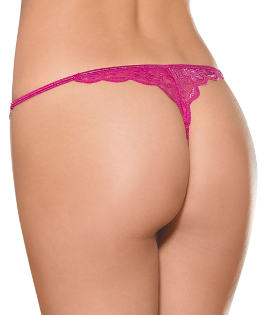 Scallop Lace G-String