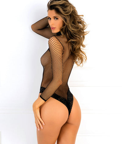 High Demand Bodysuit in Black