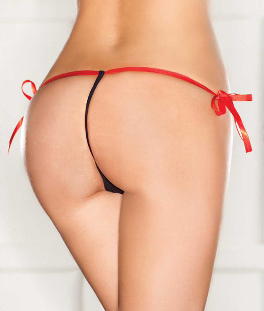 Side Tie G-String