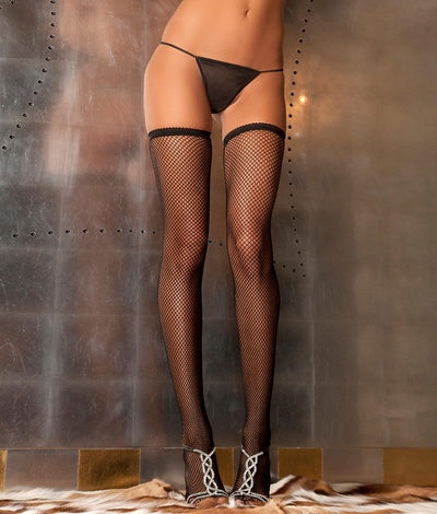 Fishnet Stockings in Black