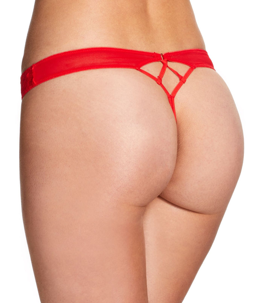 Red||Audrina Thong in Red